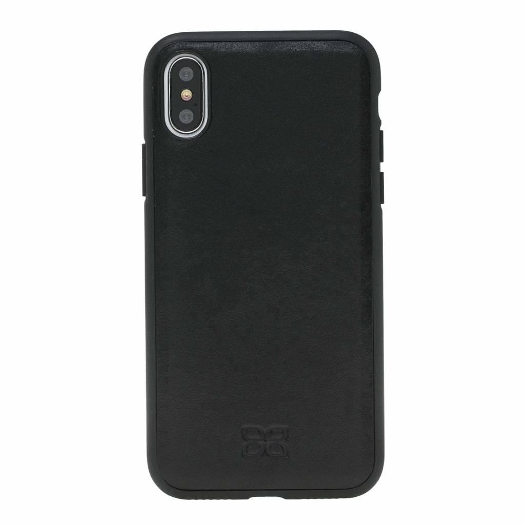 Bouletta Bouletta - iPhone Xs Max 2-in-1 Afneembare BookCase (Rustic Black)