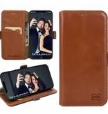 Bouletta Bouletta - iPhone Xs Max BookCase (Rustic Cognac)