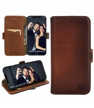 Bouletta Bouletta - iPhone Xs Max BookCase (Burned Cognac)