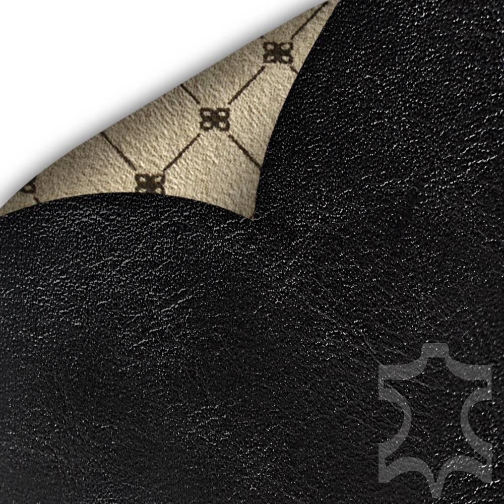 Bouletta Bouletta - iPhone Xs Max Insteekhoes met vakjes (Rustic Black)