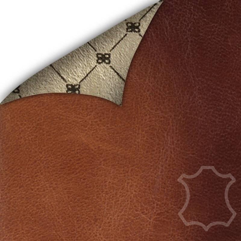 Bouletta Bouletta - iPhone Xs Max Insteekhoes met vakjes (Burned Cognac)