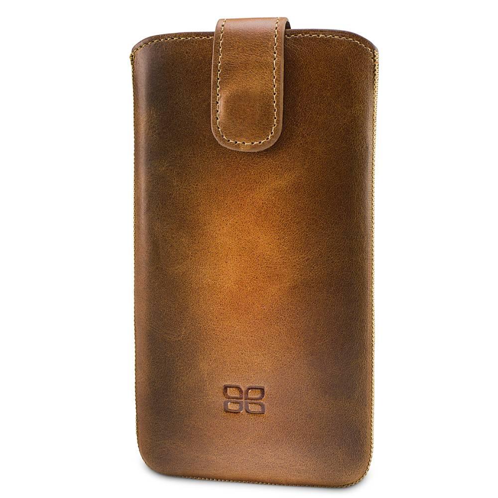 Bouletta Bouletta - iPhone Xs Max Insteekhoes (Burned Cognac)