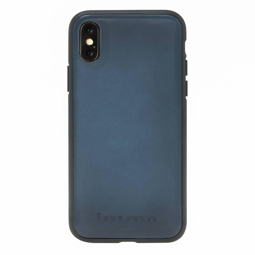 Bouletta Bouletta - iPhone Xs 2-in-1 Afneembare BookCase (Dark Blue)