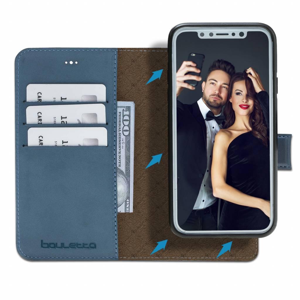 Bouletta Bouletta - iPhone Xr 2-in-1 Afneembare BookCase (Dark Blue)