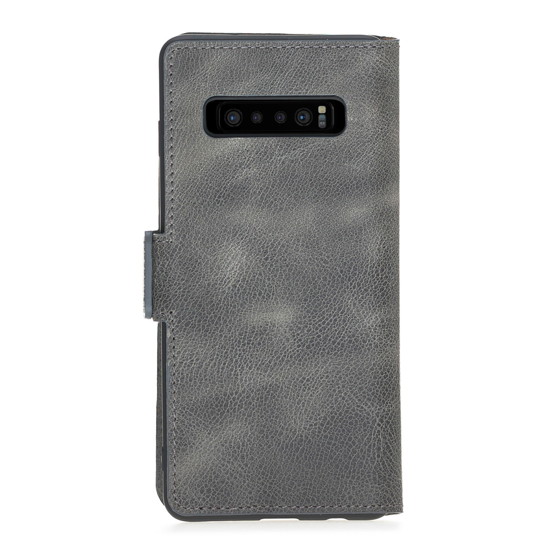 Bouletta Bouletta - Samsung Galaxy S10 BookCase (Antique Grey)
