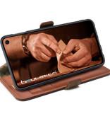 Bouletta Bouletta - Samsung Galaxy S10 BookCase (Burned Cognac)