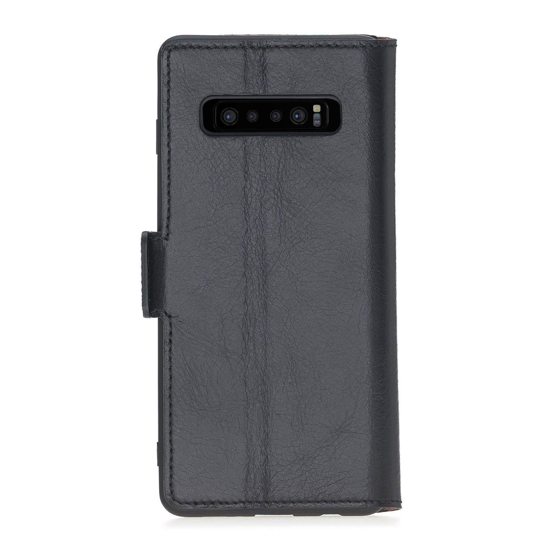 Bouletta Bouletta - Samsung Galaxy S10 BookCase (Rustic Black)