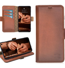 Bouletta Bouletta - Samsung Galaxy S10 Plus BookCase (Burned Cognac)