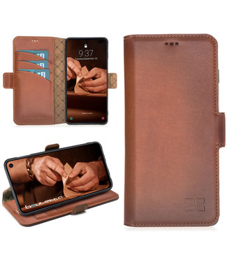 Bouletta Bouletta - Samsung Galaxy S10 Plus Book Case (Burned Cognac)