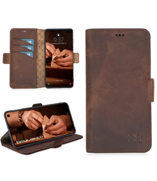 Bouletta Bouletta - Samsung Galaxy S10 Plus Book Case (Antic Coffee)