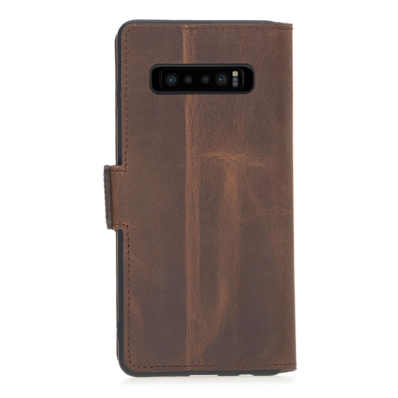 Bouletta Bouletta - Samsung Galaxy S10 Plus BookCase (Antic Coffee)