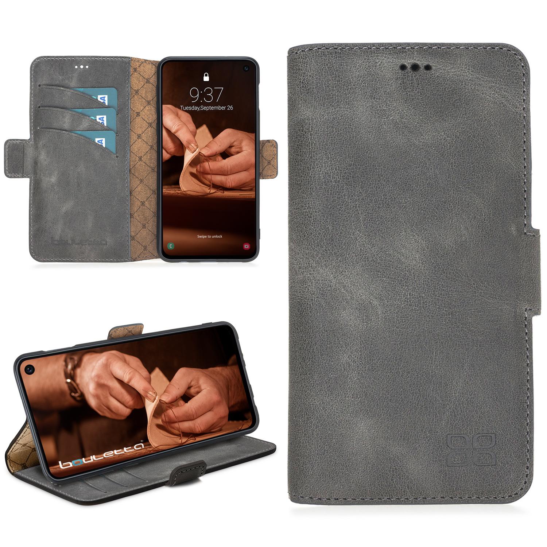 Bouletta Bouletta - Samsung Galaxy S10E BookCase (Antique Grey)
