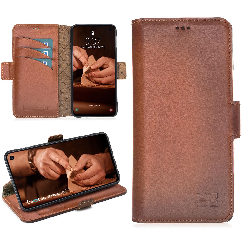 Bouletta Bouletta - Samsung Galaxy S10E BookCase (Burned Cognac)