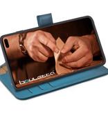 Bouletta Bouletta - Samsung Galaxy S10 Plus - 2-in-1 Afneembare BookCase (Midnight Blue)