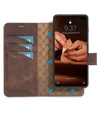 Bouletta Bouletta - Samsung Galaxy S10 Plus 2-in-1 Detachable WalletCase (Antic Coffee)