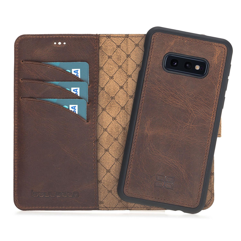 Bouletta Bouletta - Samsung Galaxy S10E  2-in-1 Afneembare BookCase (Antic Coffee)