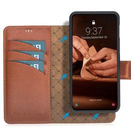 Bouletta Bouletta - Samsung Galaxy S10E  2-in-1 Afneembare BookCase (Burned Cognac)