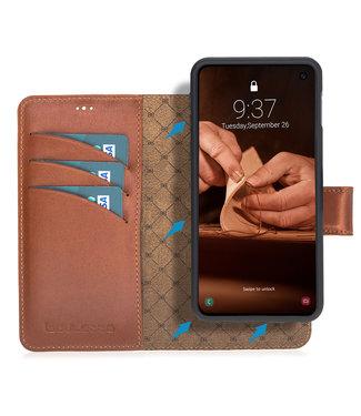 Bouletta Bouletta - Samsung Galaxy S10E  2-in-1 Abnehmbar Book Case (Burned Cognac)