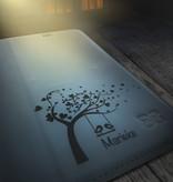 Bouletta Bouletta - iPhone Xs BookCase (Persoonlijk Gegraveerd)