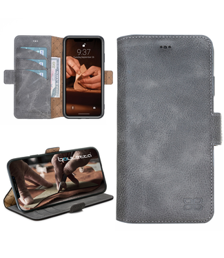 Bouletta Bouletta - iPhone Xs Max BookCase (Antic Grey)