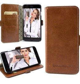 Bouletta Bouletta - iPhone 6(S) WalletCase (Rustic Cognac)
