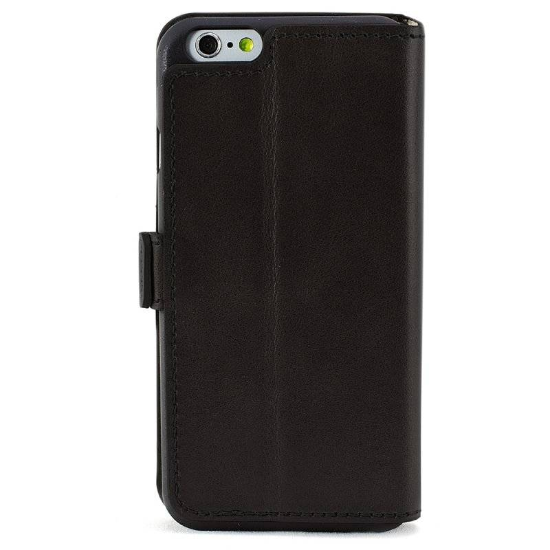 Bouletta Bouletta - iPhone 6(S) WalletCase (Rustic Black)