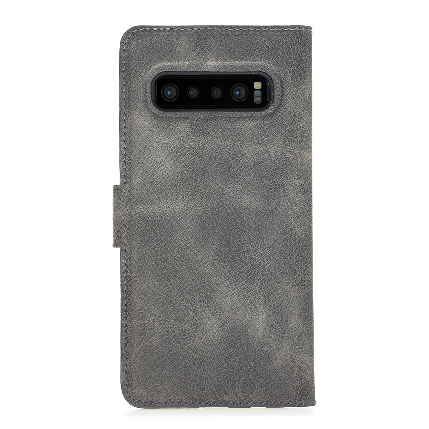 Bouletta Bouletta - Samsung Galaxy S10 Plus - 2-in-1 Afneembare BookCase (Antique Grey)
