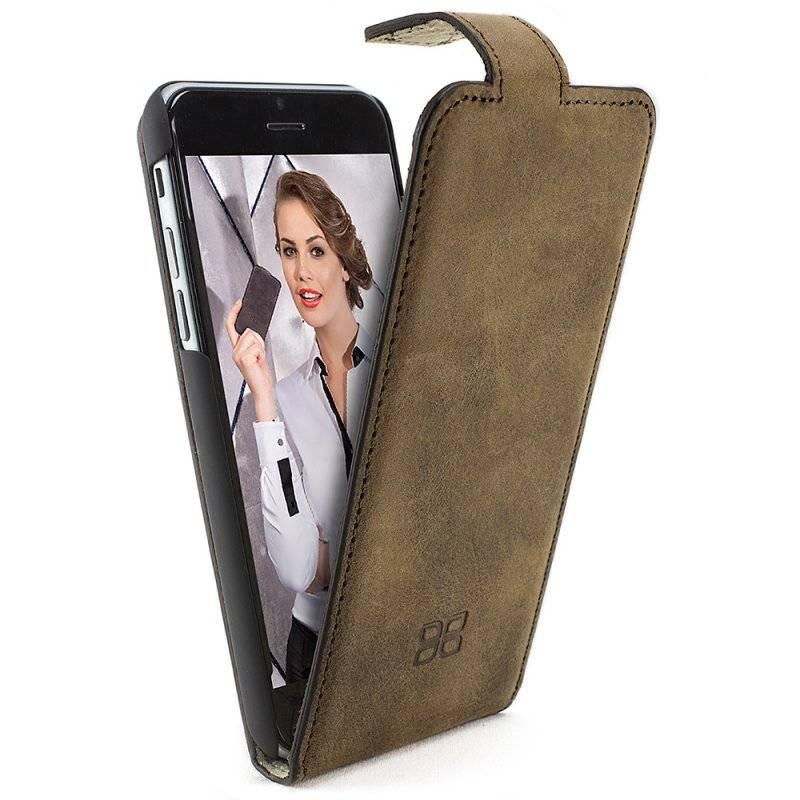 Bouletta Bouletta - iPhone 6(S) Plus FlipCase (Antic Brown)