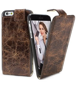 Bouletta Bouletta - iPhone 6(S) Plus FlipCase (Chesterfield Brown)