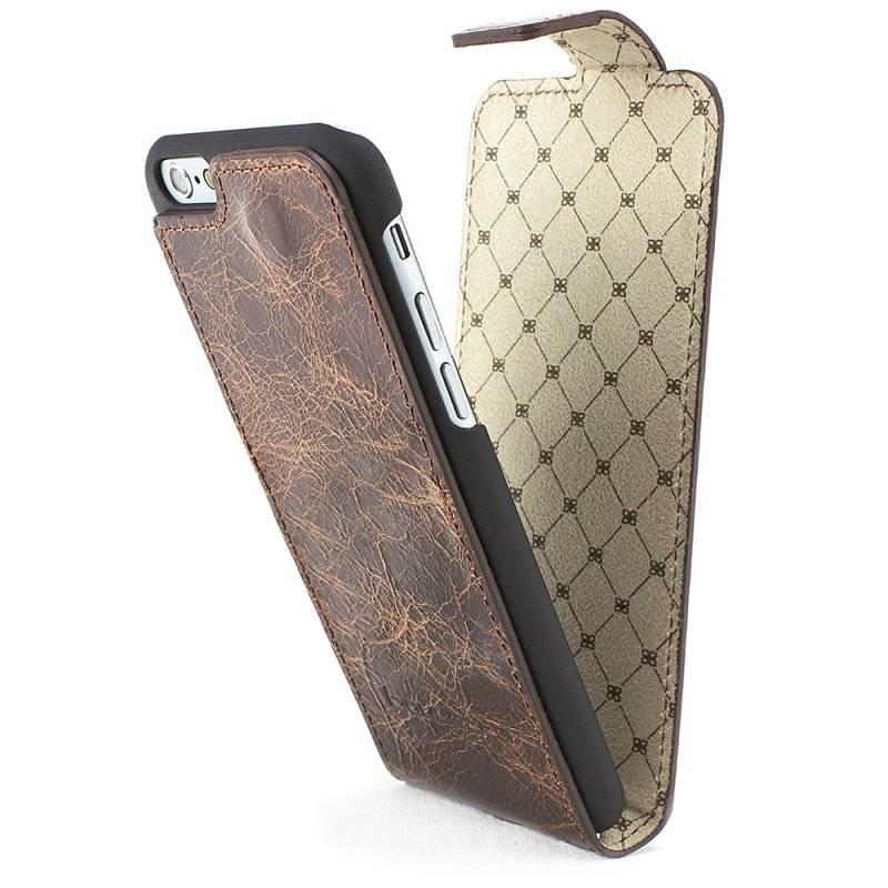 Bouletta Bouletta - iPhone 6(S) Plus FlipCase (Vessel Brown)