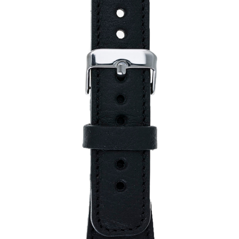 Bouletta Bouletta Classic lederen band Apple Watch 38 mm / 40 mm 'Floater Black'