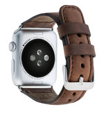 Bouletta Bouletta Classic lederen band Apple Watch 38 mm / 40 mm 'Antic Coffee'