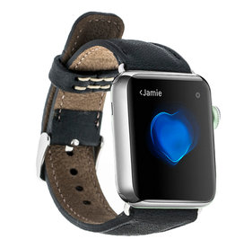 Bouletta Bouletta Classic band Apple Watch 42 mm / 44 mm 'Floater Black'