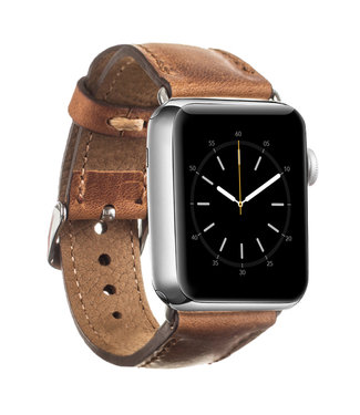 Bouletta Bouletta Classic band Apple Watch 42 mm / 44 mm 'Vintage Cognac'