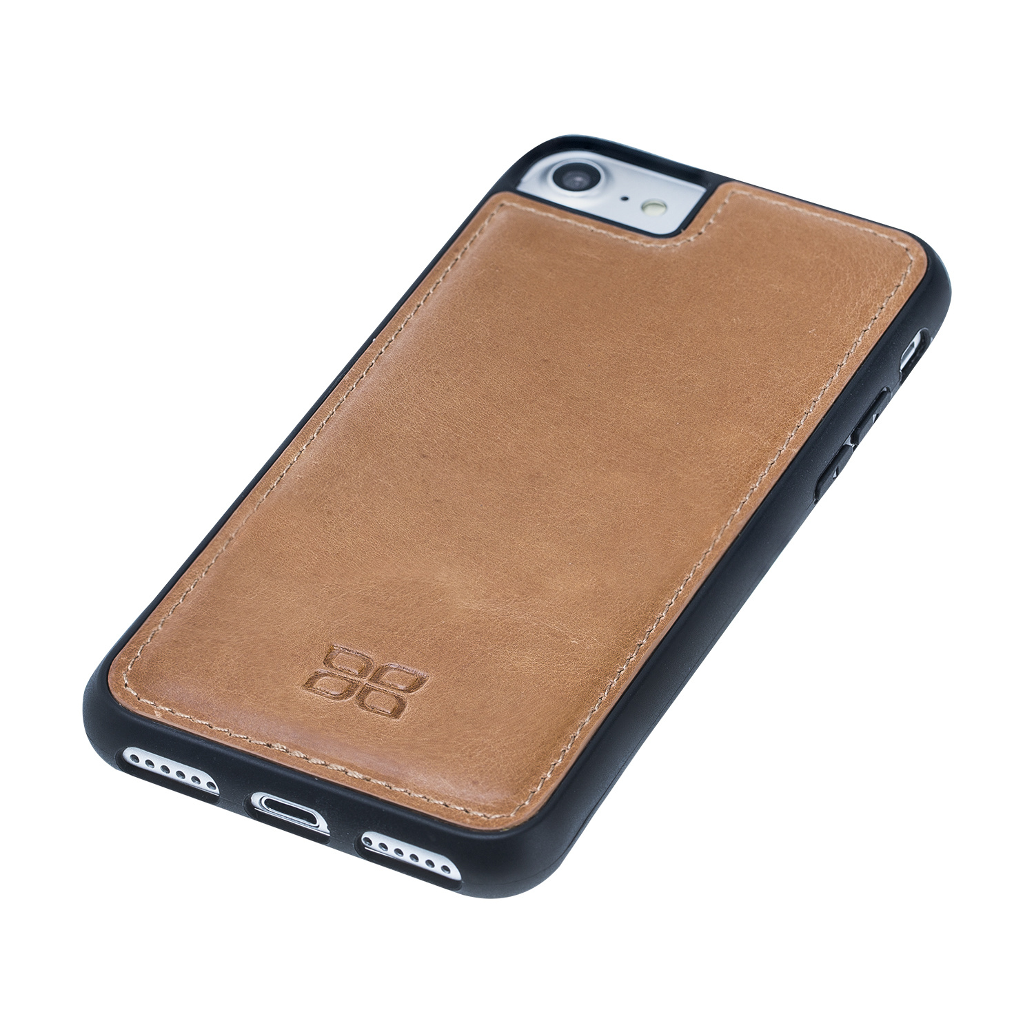 Bouletta Bouletta - iPhone 7/8 Flex Back Cover (Vintage Cognac)