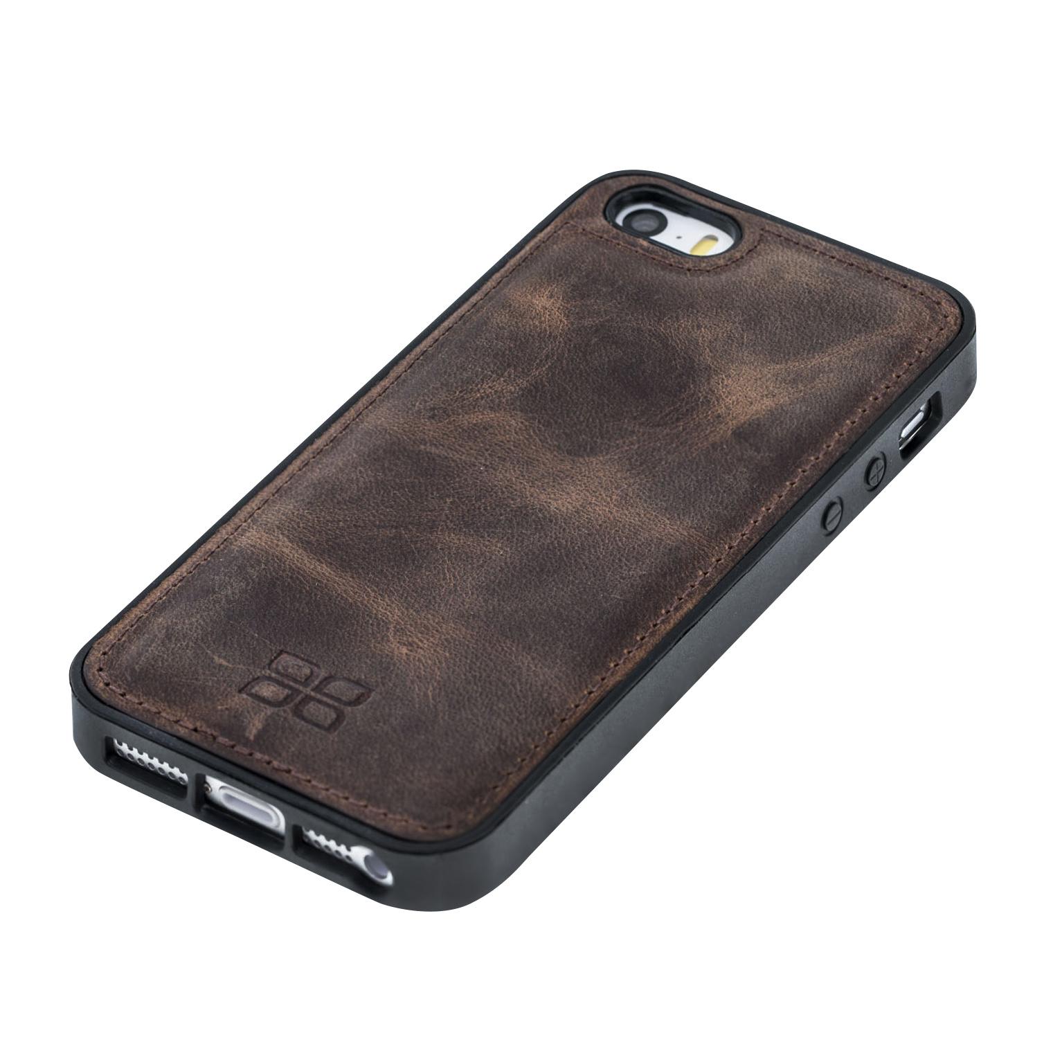 Bouletta Bouletta - iPhone 5(S) & SE Flex BackCover (Antic Coffee)