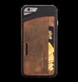 Bouletta Bouletta - iPhone 6(S) Plus Elastic BackCover met vakje (Antic Coffee)