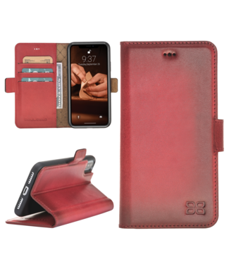Bouletta Bouletta - iPhone 7/8 BookCase (Burned Red)