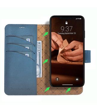 Bouletta Bouletta - iPhone 11 Pro Max 2-in-1 Abnehmbar BookCase (Midnight Blue)