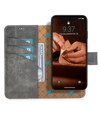 Bouletta Bouletta - iPhone 11 Pro 2-in-1 Abnehmbar BookCase (Future Grey)