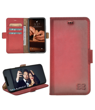 Bouletta Bouletta - iPhone 11 BookCase (Dark Red)