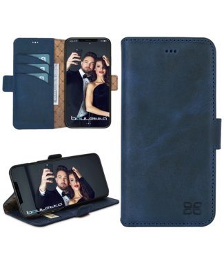 Bouletta Bouletta - iPhone 11 BookCase (Antic Blue)