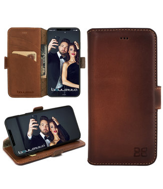 Bouletta Bouletta - iPhone 11 BookCase (Burned Cognac)