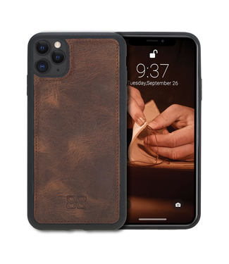 Bouletta Bouletta - iPhone 11 Pro BackCover (Antic Coffee)