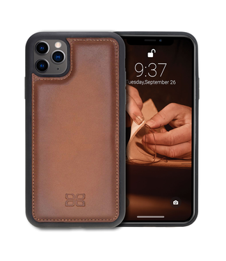 Bouletta Bouletta - iPhone 11 Pro BackCover (Burned Cognac)