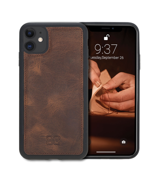 Bouletta Bouletta - iPhone 11 BackCover (Antic Coffee)