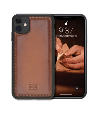 Bouletta Bouletta - iPhone 11 BackCover (Burned Cognac)