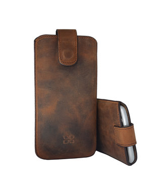 Bouletta Bouletta - iPhone 11 Sleeve/Pouch (Antic Coffee)