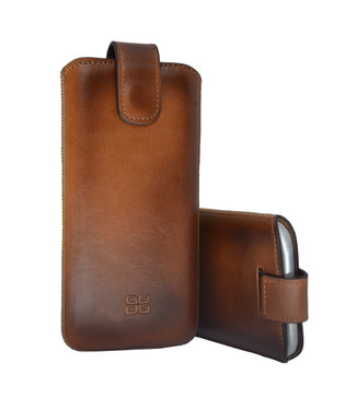 Bouletta Bouletta - iPhone 11 Sleeve/Pouch (Burned Cognac)