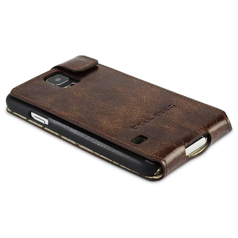 Bouletta Bouletta - Samsung Galaxy S6 FlipCase (Vessel Brown)